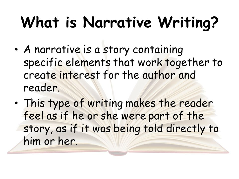 Private Essay: Help in writing a narrative essay