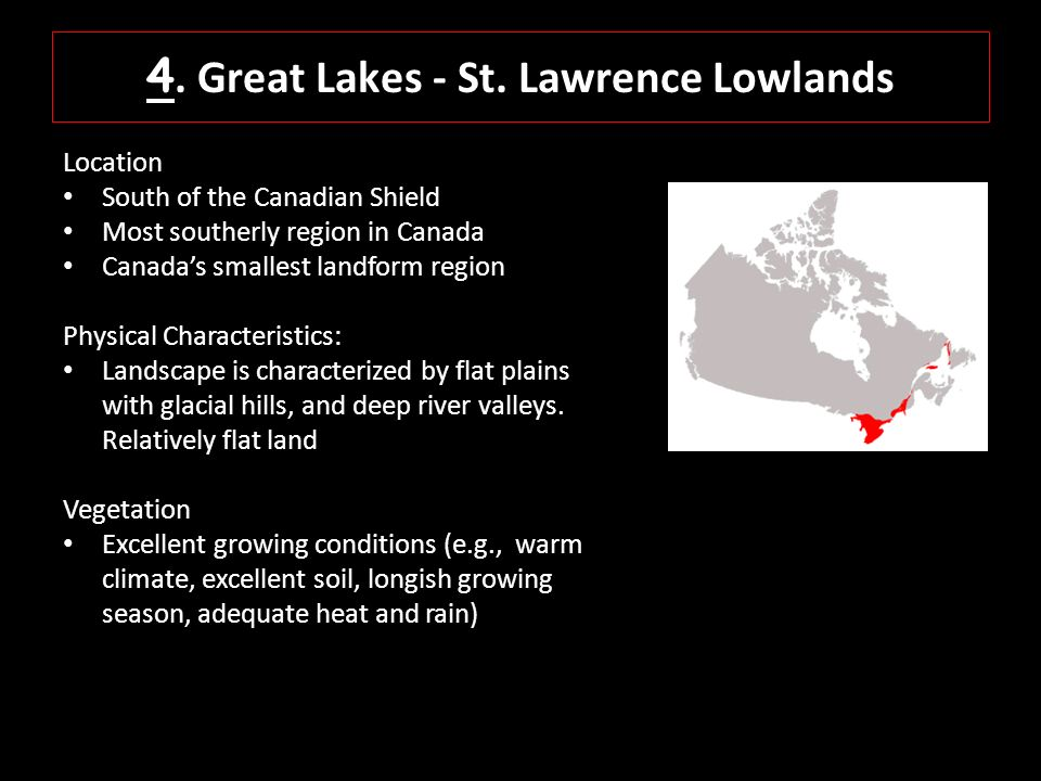 Canadas Landform Regions Ppt Video Online Download - Physical characteristics of canada