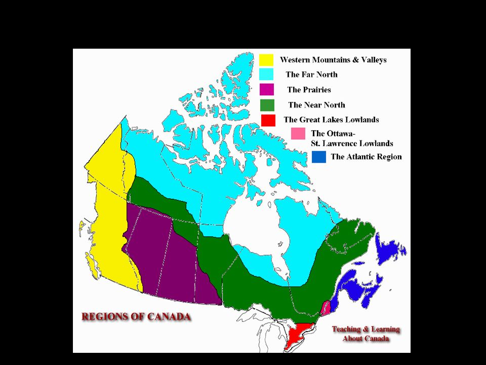 Canadas Landform Regions ppt video online