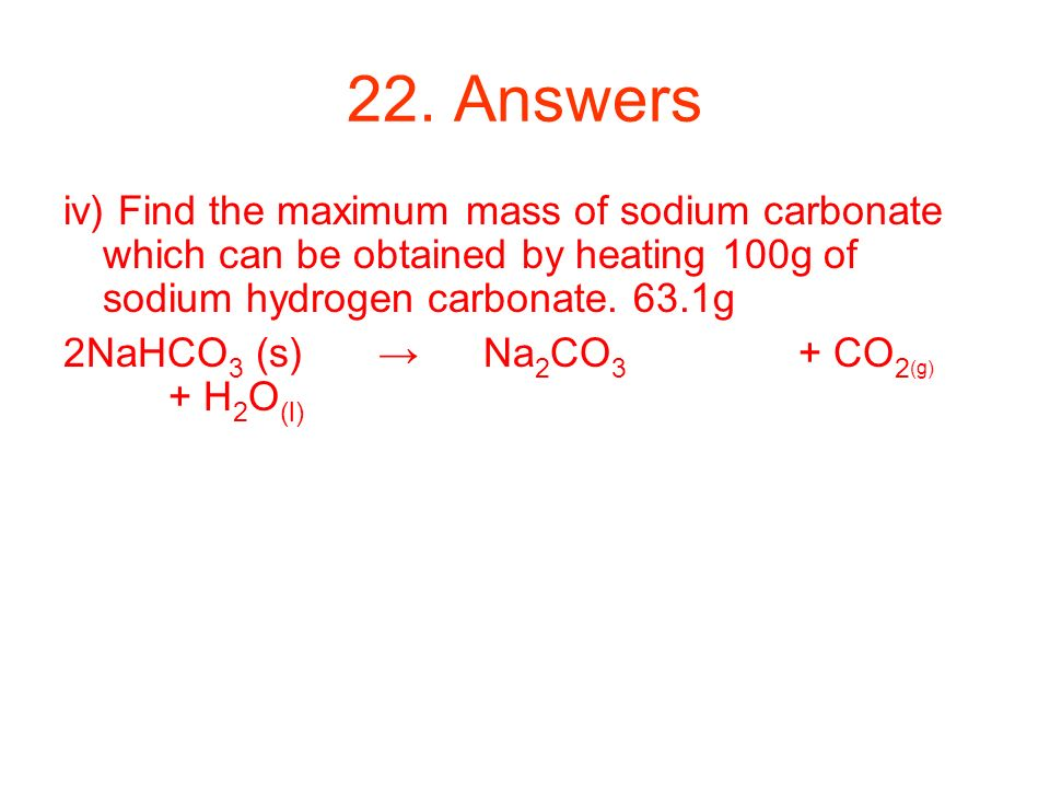 how to find the mass of h2o
