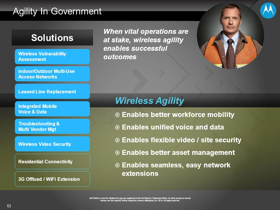 Agility In Government Solutions Wireless Agility