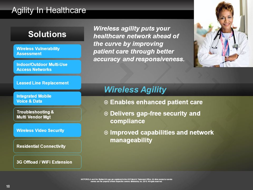 Agility In Healthcare Solutions Wireless Agility