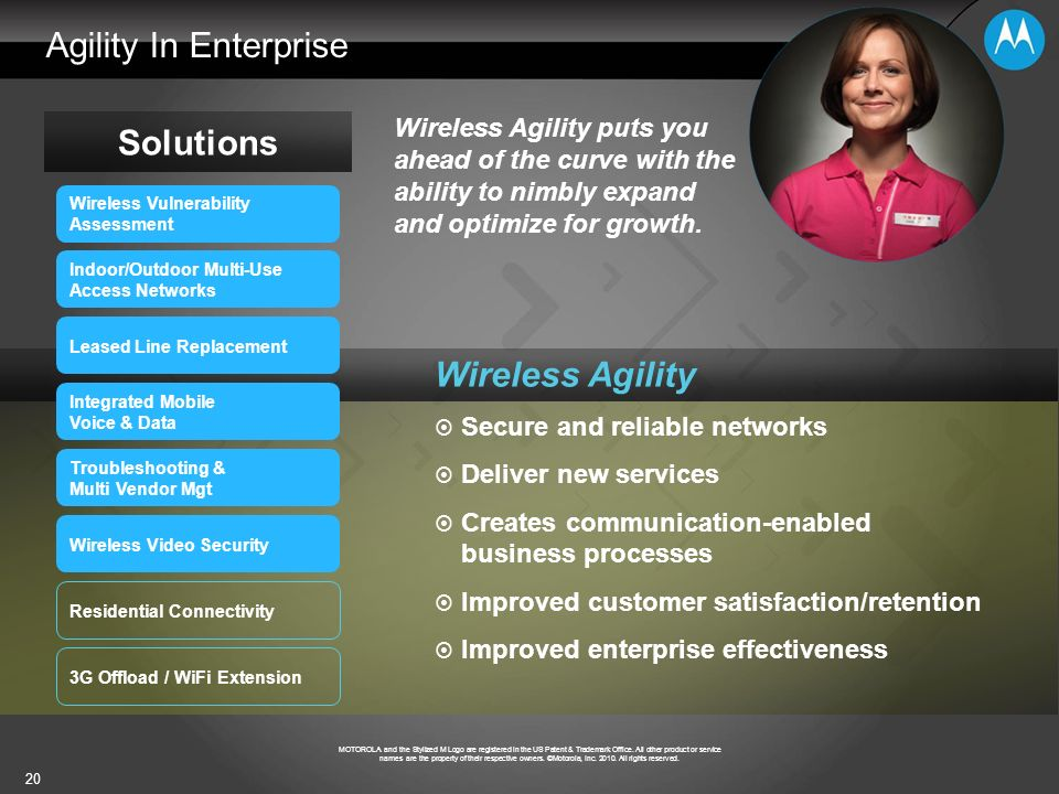Agility In Enterprise Solutions Wireless Agility