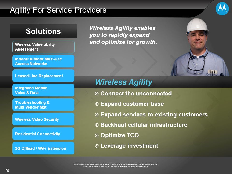 Agility For Service Providers