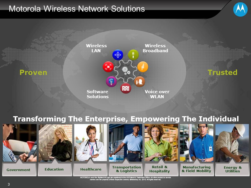 Motorola Wireless Network Solutions