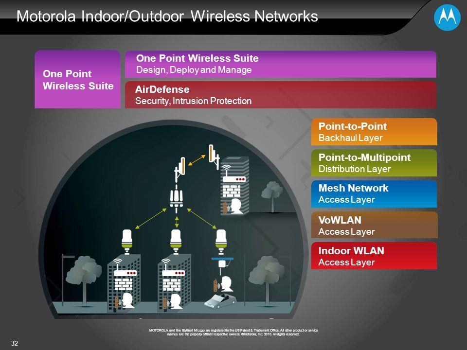 Motorola Indoor/Outdoor Wireless Networks