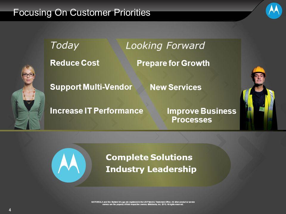 Focusing On Customer Priorities