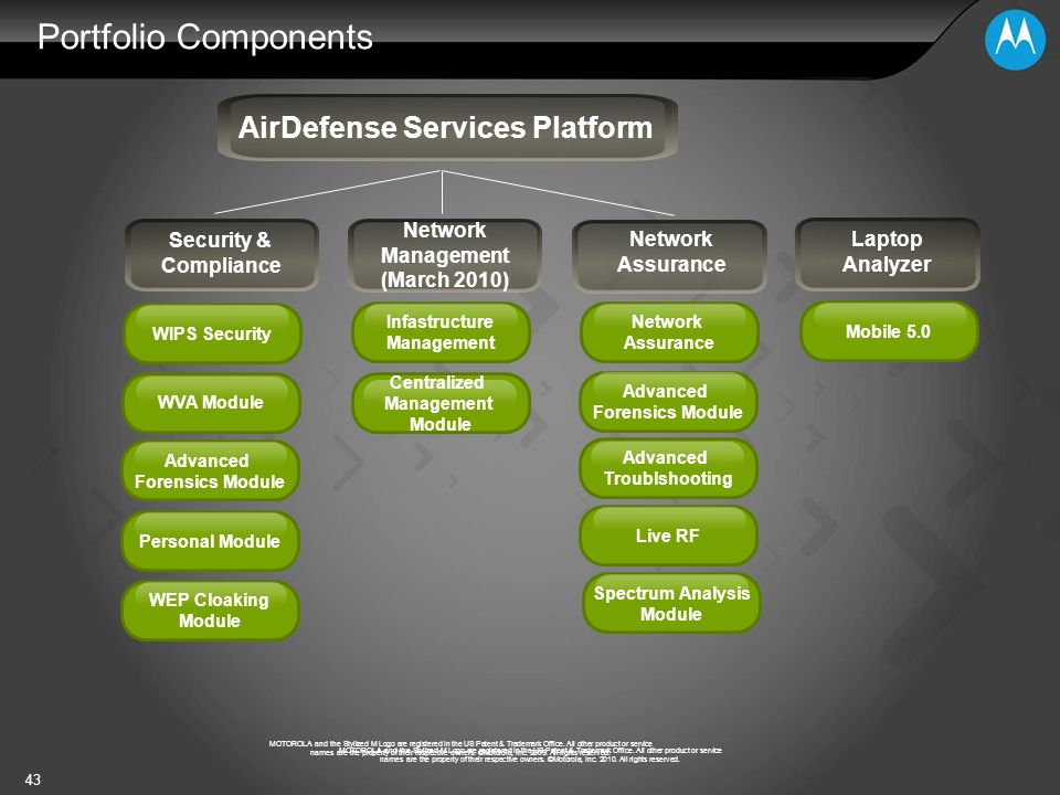AirDefense Services Platform