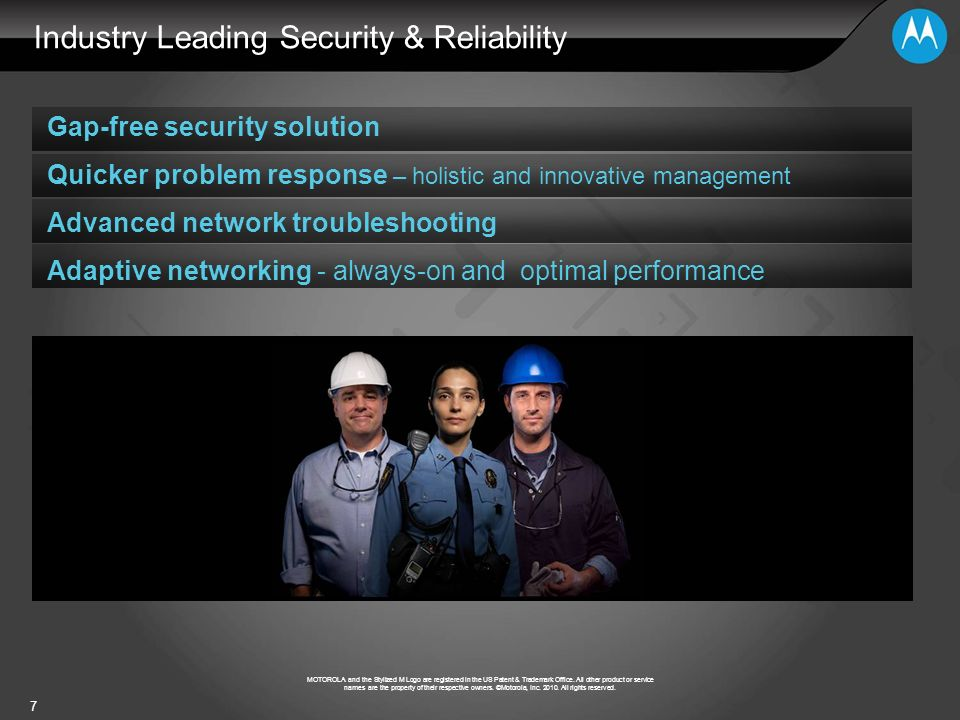 Industry Leading Security & Reliability