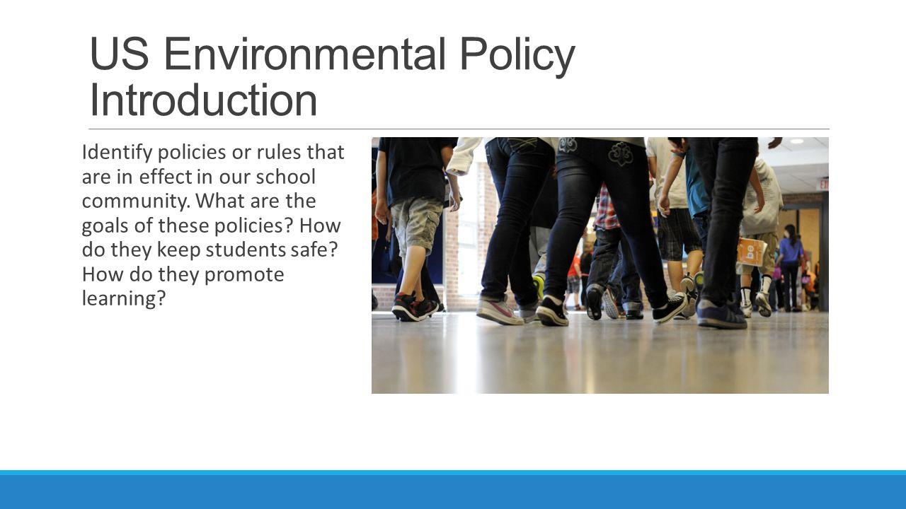 us environmental policy