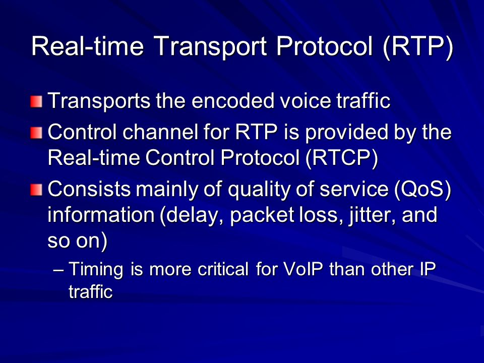 the real time transport protocol The real-time transport protocol defines a real-time transport protocol header and a real-time transport protocol data payload for each real-time transport protocol data packet the real-time transport protocol data payload comprises one or more 1394 compliant isochronous cycle records.