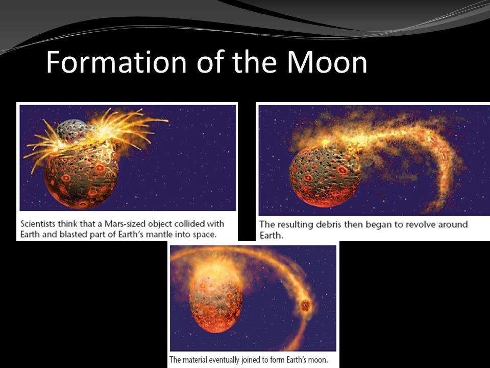 formation of earth and moon - photo #21