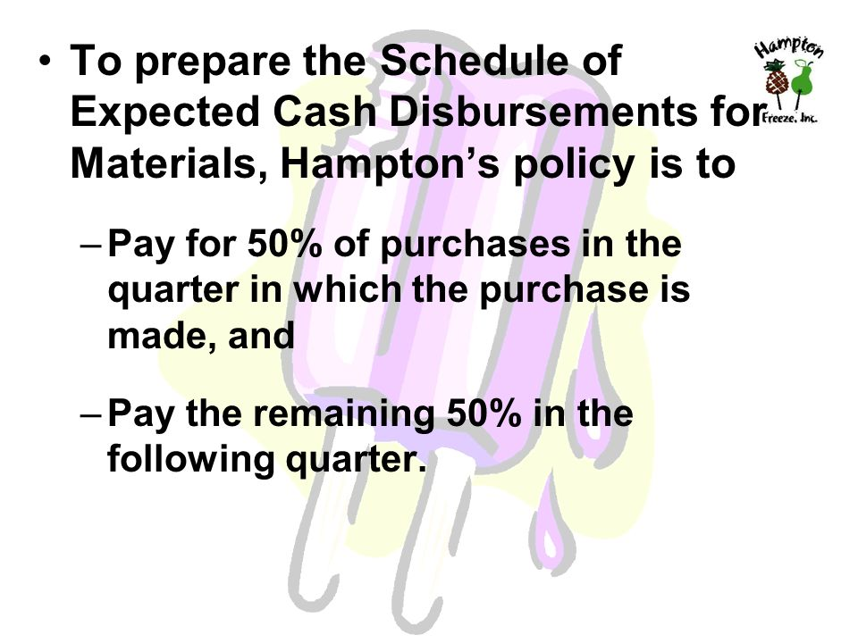 policy and procedures for cash disbursements Petty cash policy and procedure table of contents  petty cash drawer after a number of disbursements have been made to faculty, staff, and.