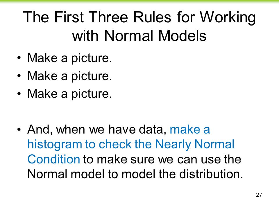 how to make a normal model