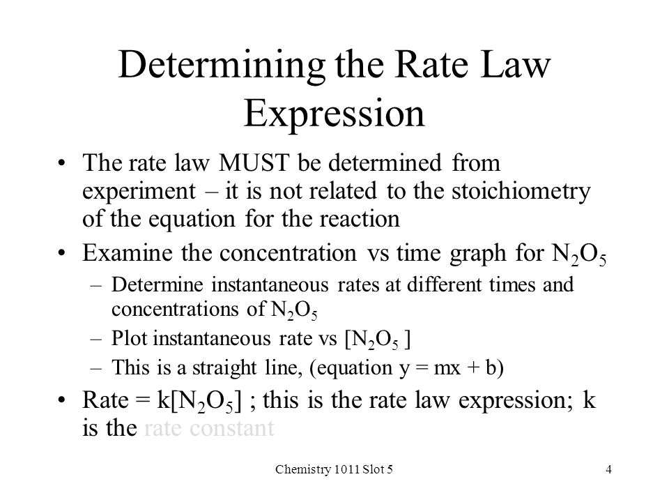a study on rate expression The rate law for the reaction between iodide ions and hydrogen peroxide can be   for the study we will perform, the reaction between iodide and hydrogen.