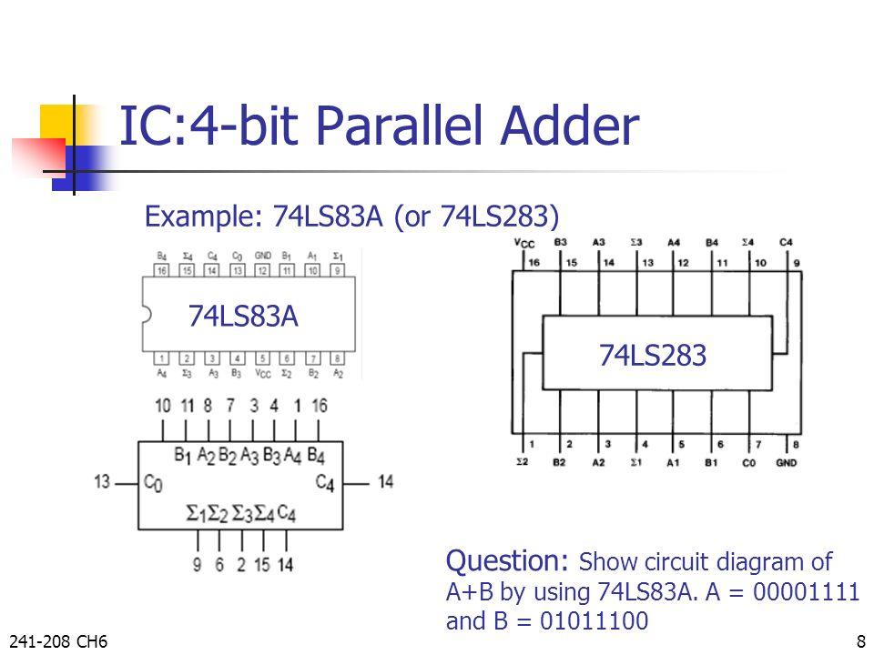 2 bit adder logic diagram 8 bit adder circuit diagram