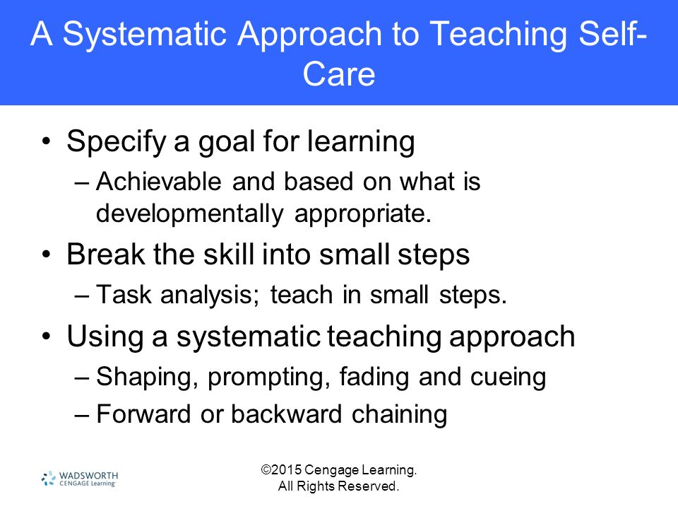 systematic approach to teaching A systematic approach to documenting teaching effectiveness denise m anderson clemson university parks, recreation, and tourism management 263 lehotsky, box 340735.