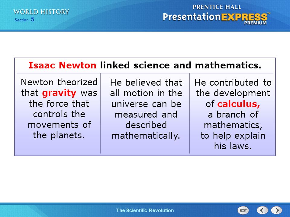 the contribution of isaac newton to math and science Transcript of contributions of sir isaac newton and galileo galilei  galileo and today's view of science newtons work  contributions of sir isaac newton and.