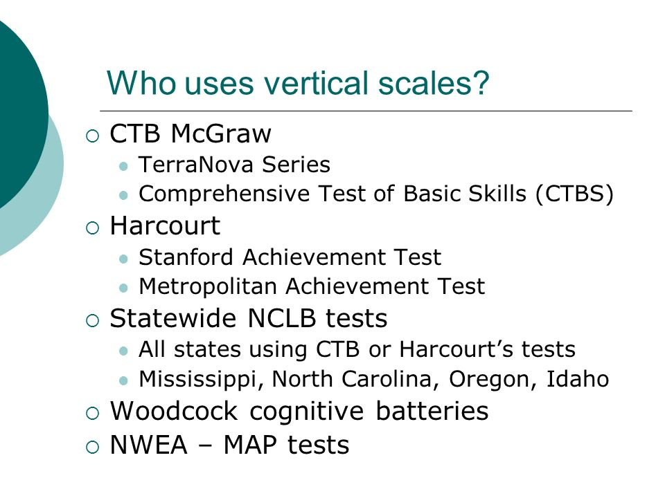 Vertical Scaling and the Development of Skills - ppt video online ...