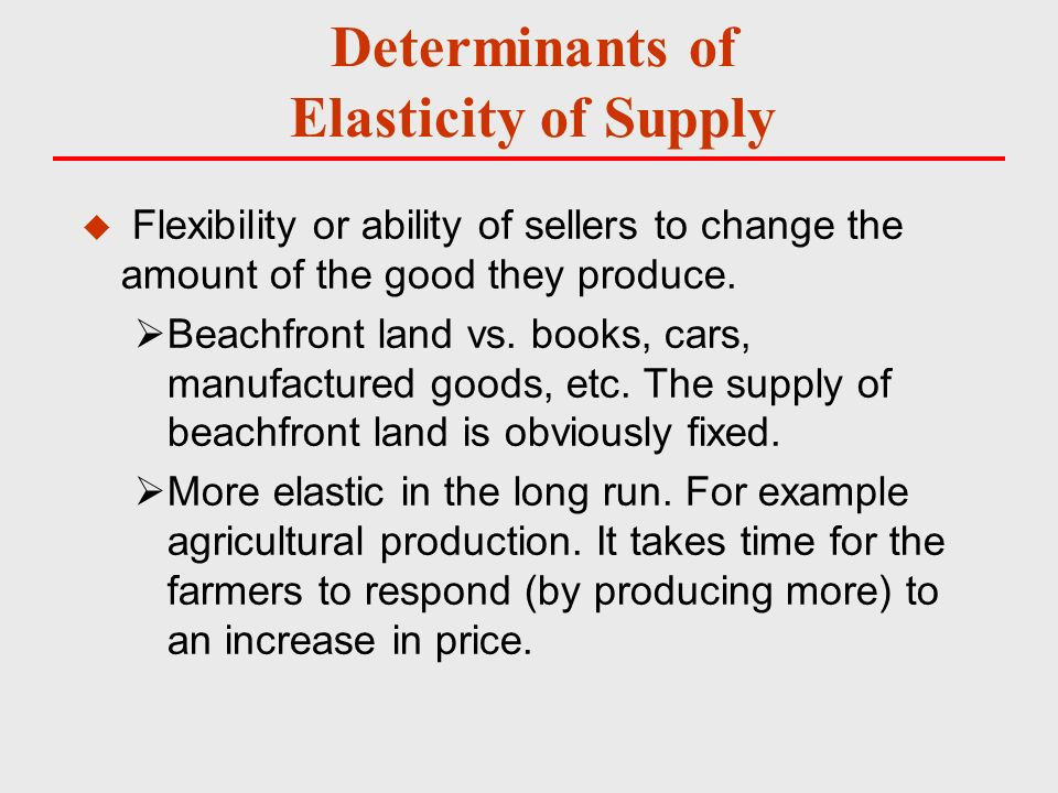 how to calculate short run price elasticity of demand