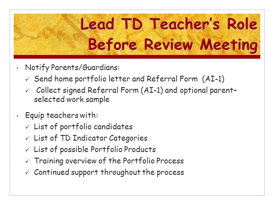 Irwin Academic Center Talent Development Identification WELCOME ...