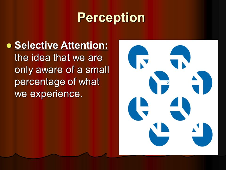 idea of selective attention Assignment topic: issues of selective attention assignment topic: issues of selective attention  idea generation,.