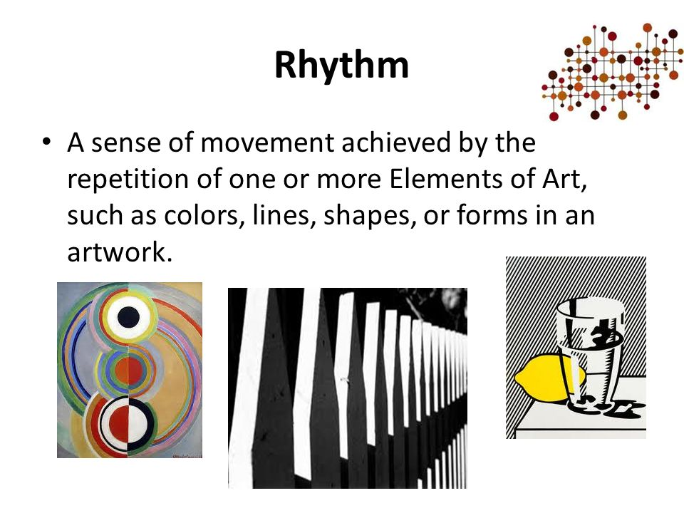 Movement Element Of Art : Principles of design ppt video online download