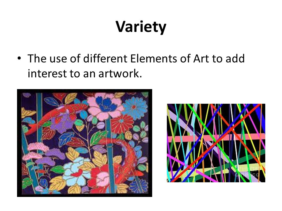 Variety Element Of Art : Principles of design ppt video online download