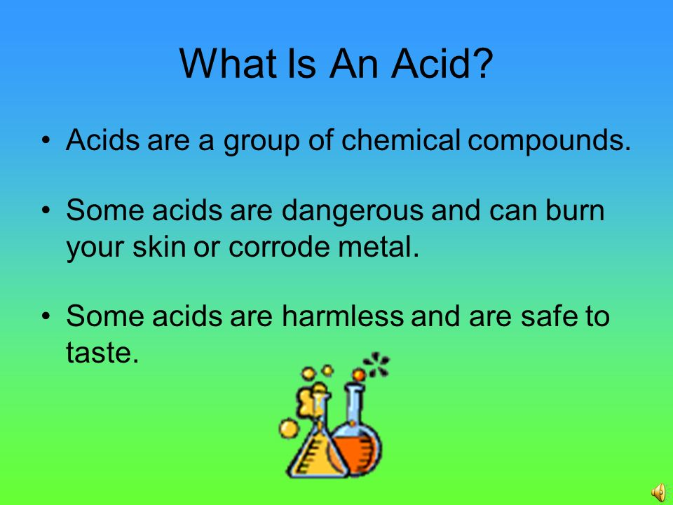 a comparison of acids and bases two groups of chemical compounds These two types of reactions are acid-base reactions and redox reactions   some common acids and bases, and their chemical formulae, are shown in  table  examples of amphiprotic substances include water, hydrogen  carbonate ion.