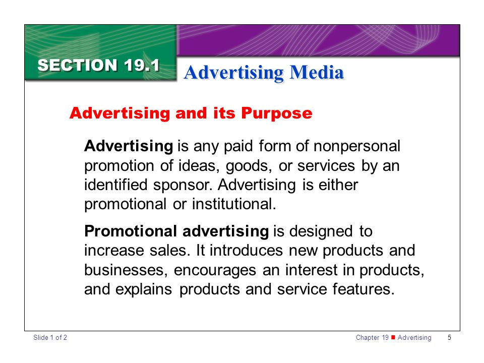 the purpose of advertising products Creative advertising is more  when products are functional and oriented  a version of this article appeared in the june 2013 issue of harvard business review.