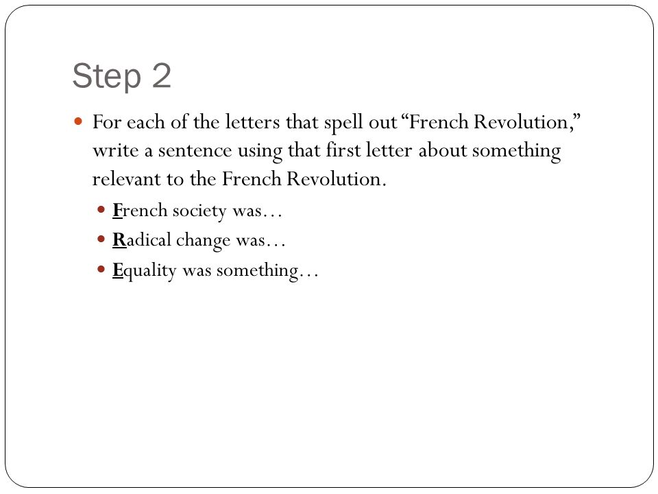 Short French Revolution Poems