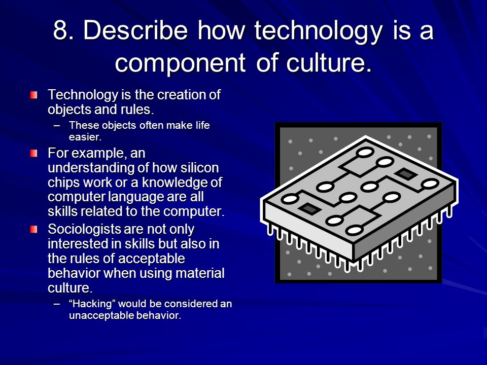 technology culture and internet Technology and its impact on society and culture:  the internet and mobile technology are changing the way people interact, work, and learn  culture change .