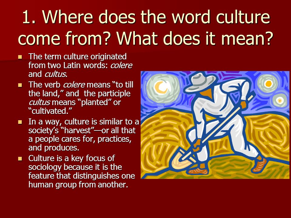 """what does the word culture mean essay """"words, english words, are full of echoes, of memories,  which was also turned  into an essay called craftmanship and published as part of  think what it would  mean if you could teach, if you could learn, the art of writing."""