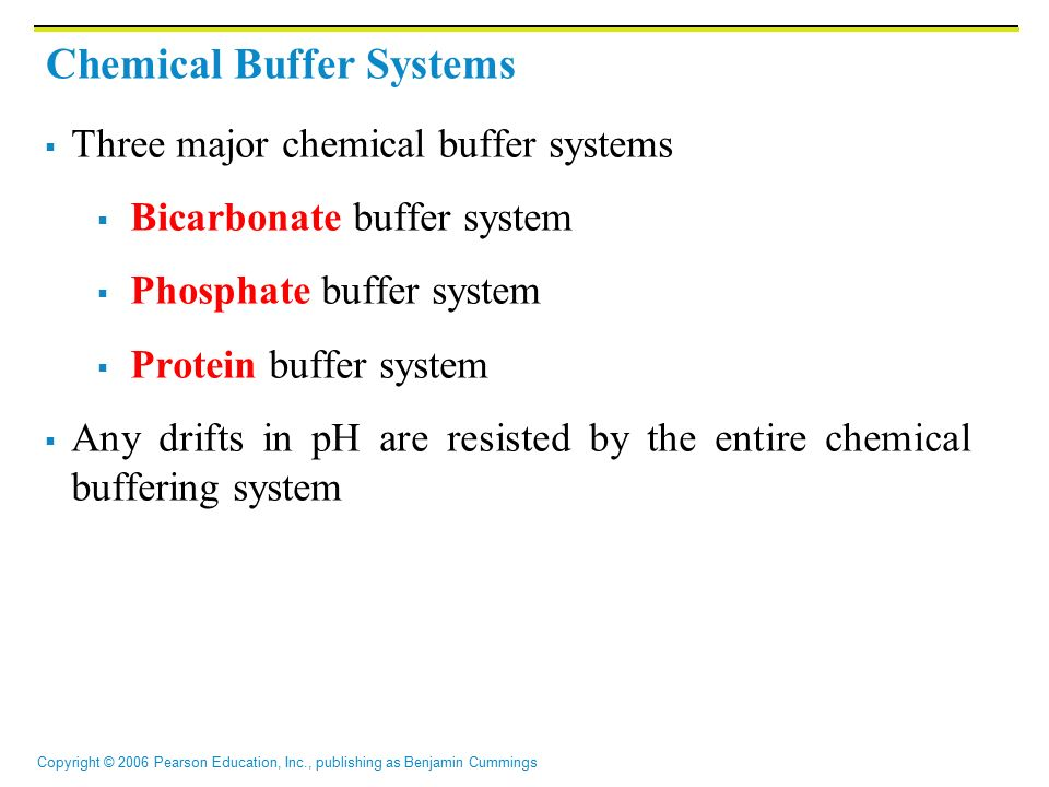 chemical buffer