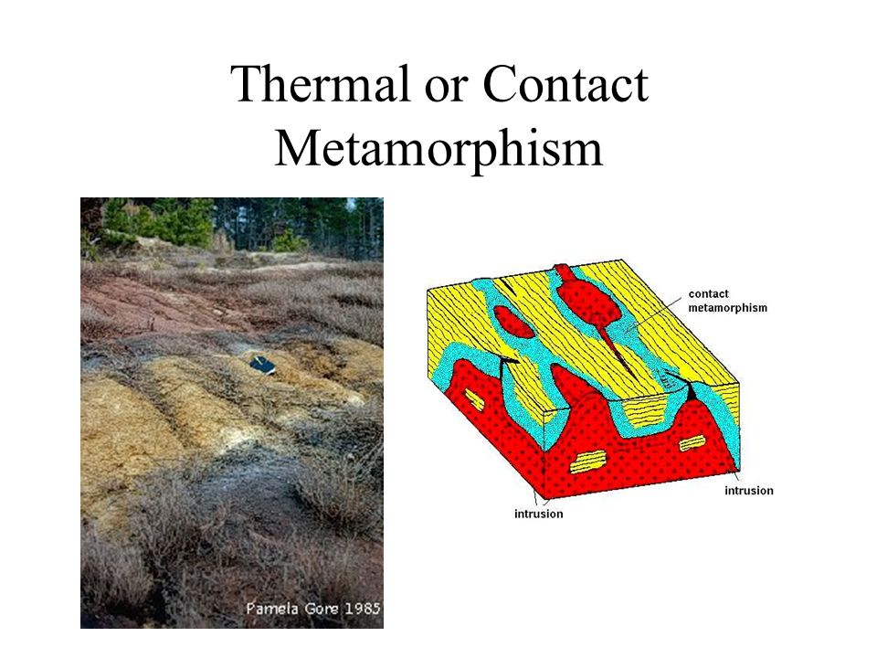 Thermal or Contact Metamorphism