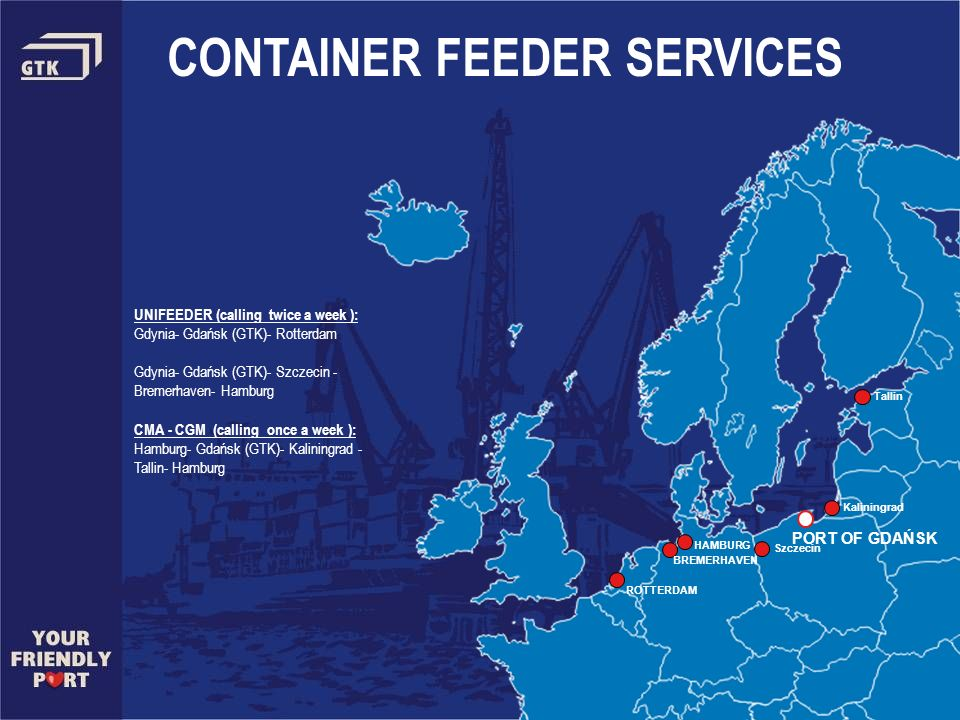 CONTAINER FEEDER SERVICES