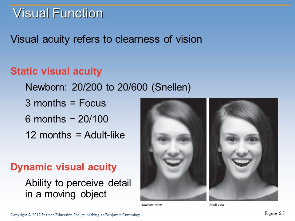 visual acuity as a function of What limits visual acuity optics of the eye - far from perfect, spreads the retinal image, a point becomes a gausian, called point spread function rayleigh limit - distance between points exceeds half the spread of each point, determined by pupil size & wavelenth of light.