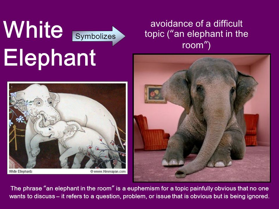 Themes Motifs And Symbolism In Hills Like White Elephants Ppt