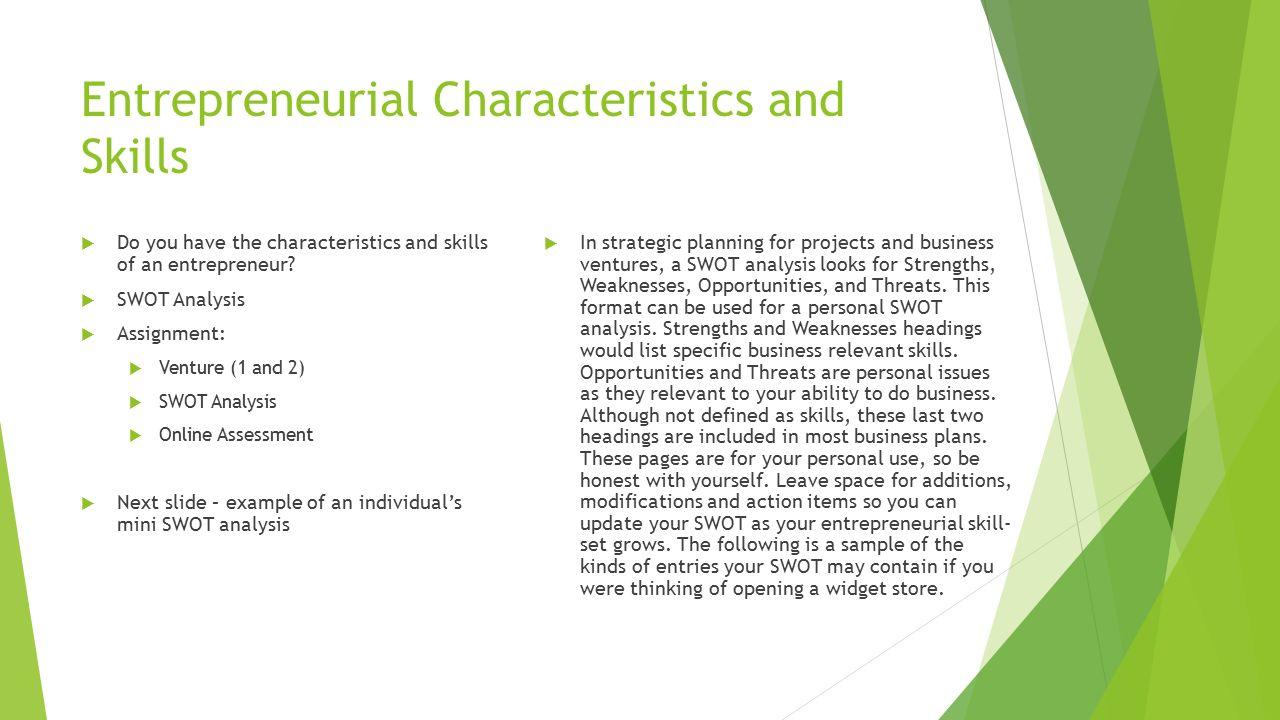 characteristics of social entrepreneurship pdf