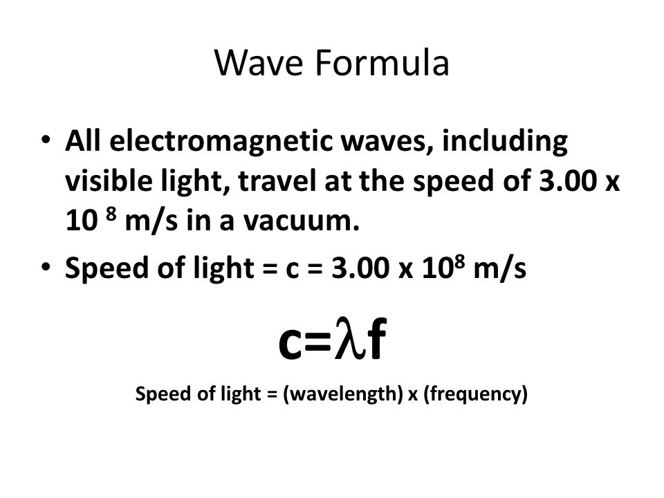 speed of light equation chemistry. 7 speed of light equation chemistry