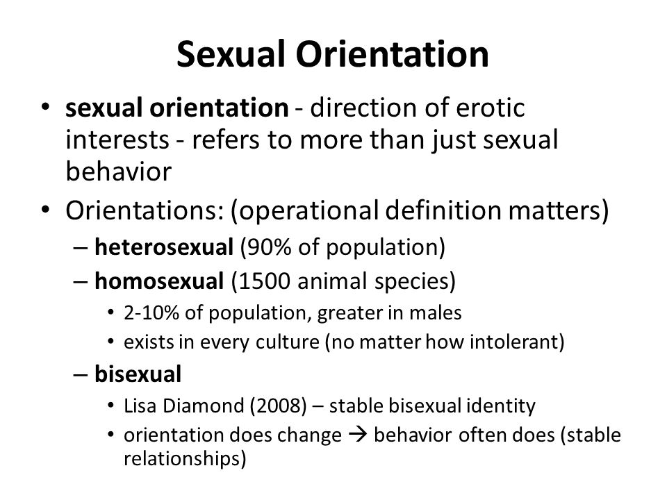 What is sexual behavior definition
