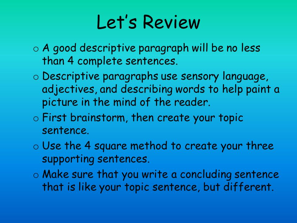 The Best Way to Get Your Students to Write Great Paragraphs