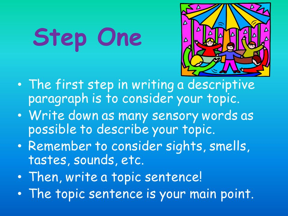 How to write a strong first paragraph in a essay