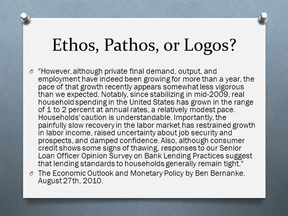 ethos pathos logos essay writing A rhetorical analysis essay is a form of writing where the author looks at the topic in greater detail and prove his standpoint, using effective and persuasive methods in a broader sense, a rhetorical paper means 'writing about writing,' 'dreaming about a dream,' 'teaching a teacher,' and so on.