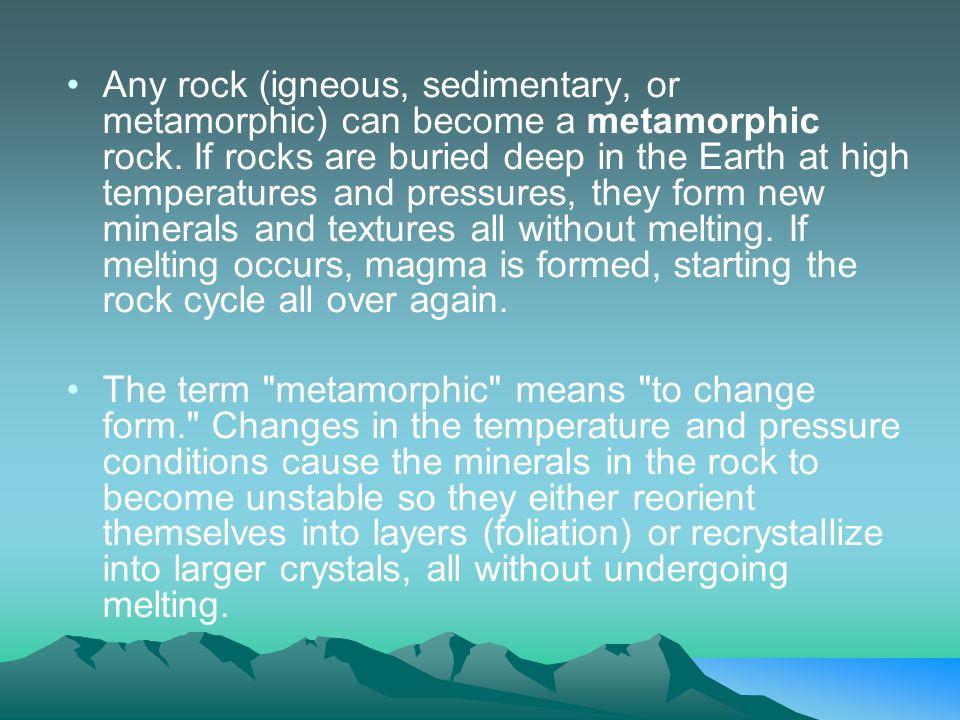 Igneous Sedimentary Metamorphic - ppt video online download