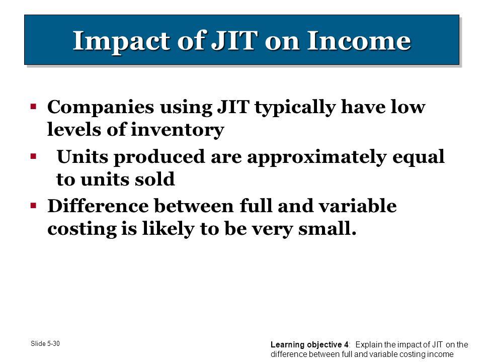 jit benefits