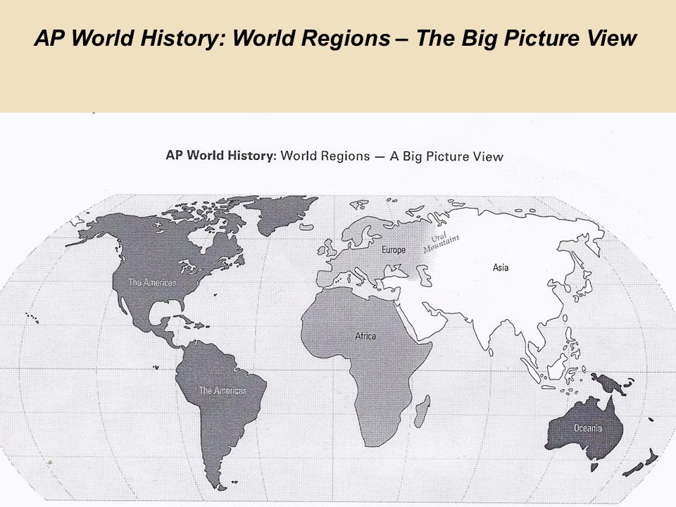 Ap World History World Regions - Design Templates