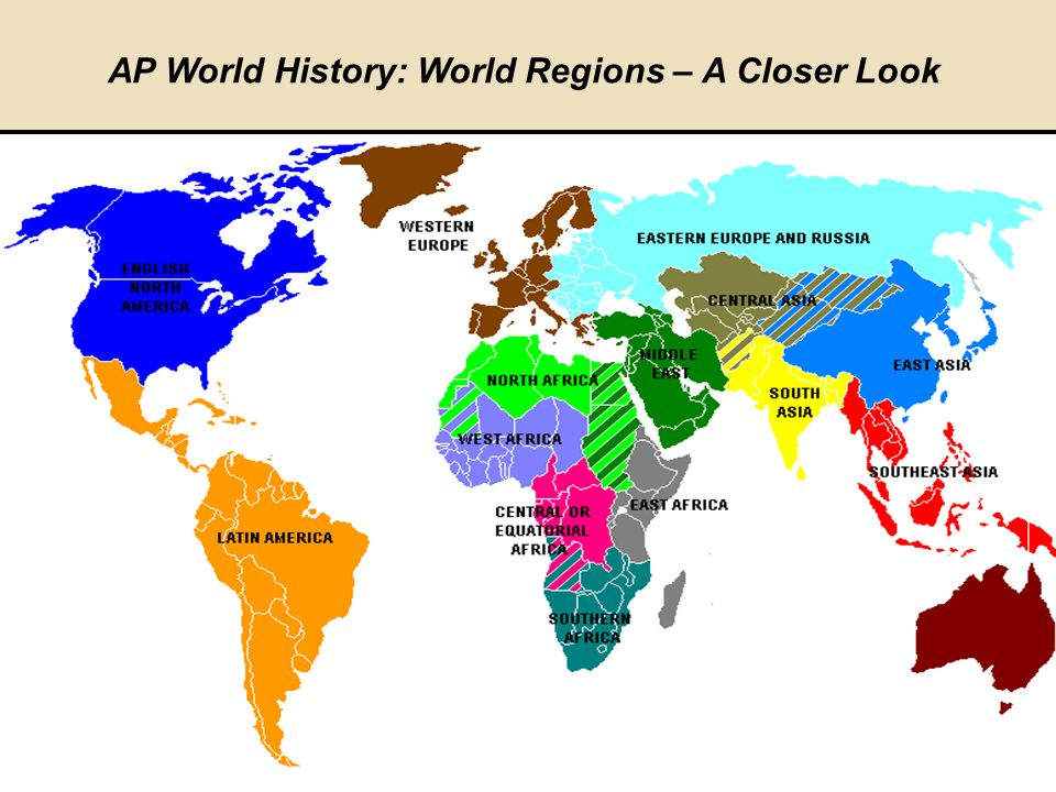 Ap human geography world regions
