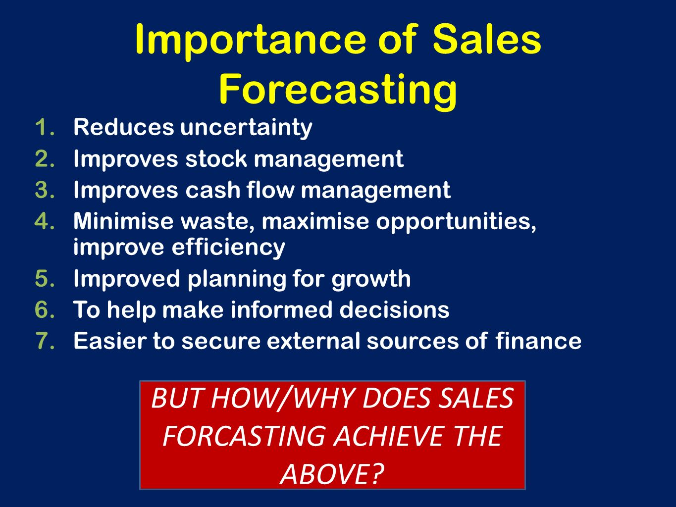 sales and distribution management sales forecasting Increasing efficiency in the sales &distribution process facilitates and empowers the sales team to keep its competitive edge ebizframe erp sales embraces best practices and processes that can be configured to an organization's way of working without compromising on the best global practices.