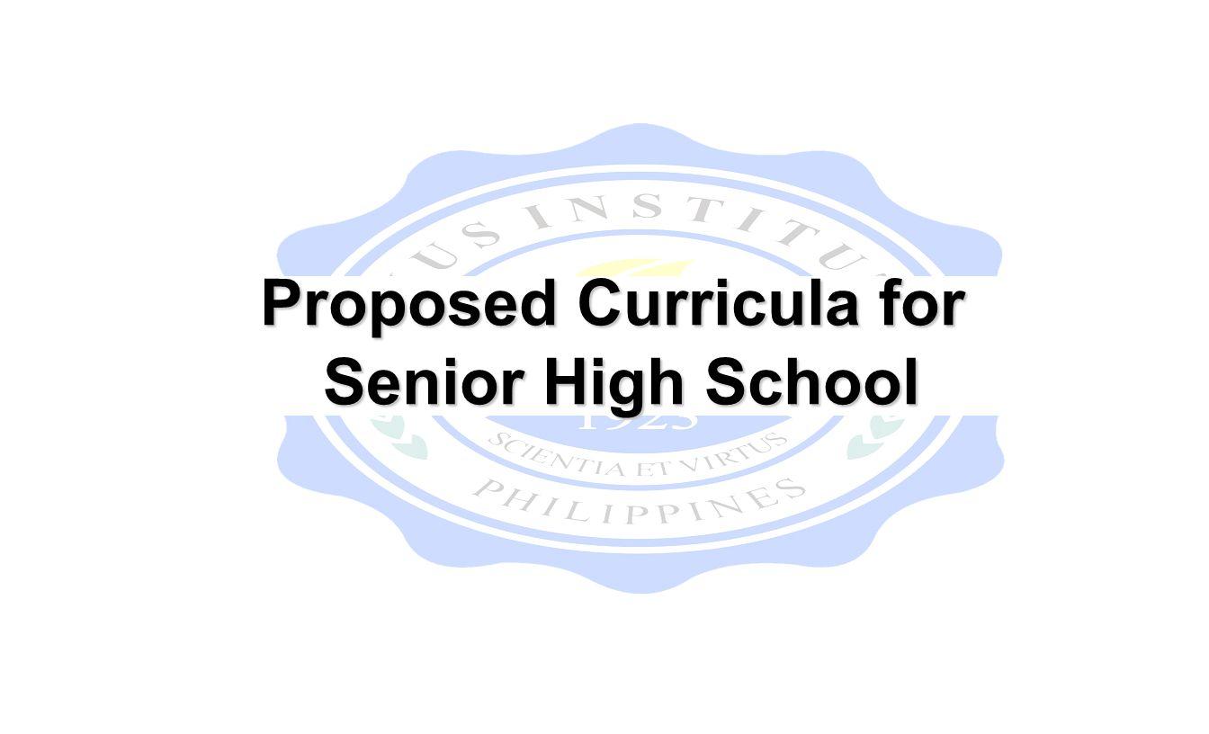 Senior High School Updates Mrs Belma C Villanueva